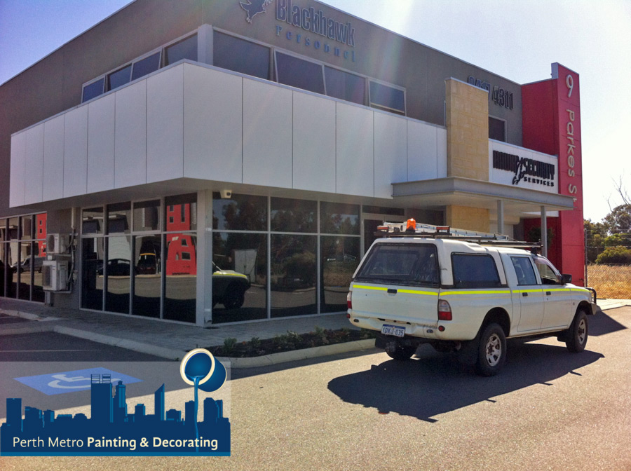 Perth Metro Painting Commercial Retail Unit Repaint Maintenance example