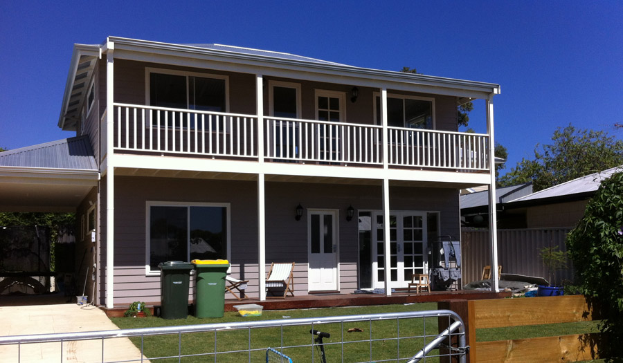 Fremantle Double Storey New Build painted by Craig of Perth Metro Painting